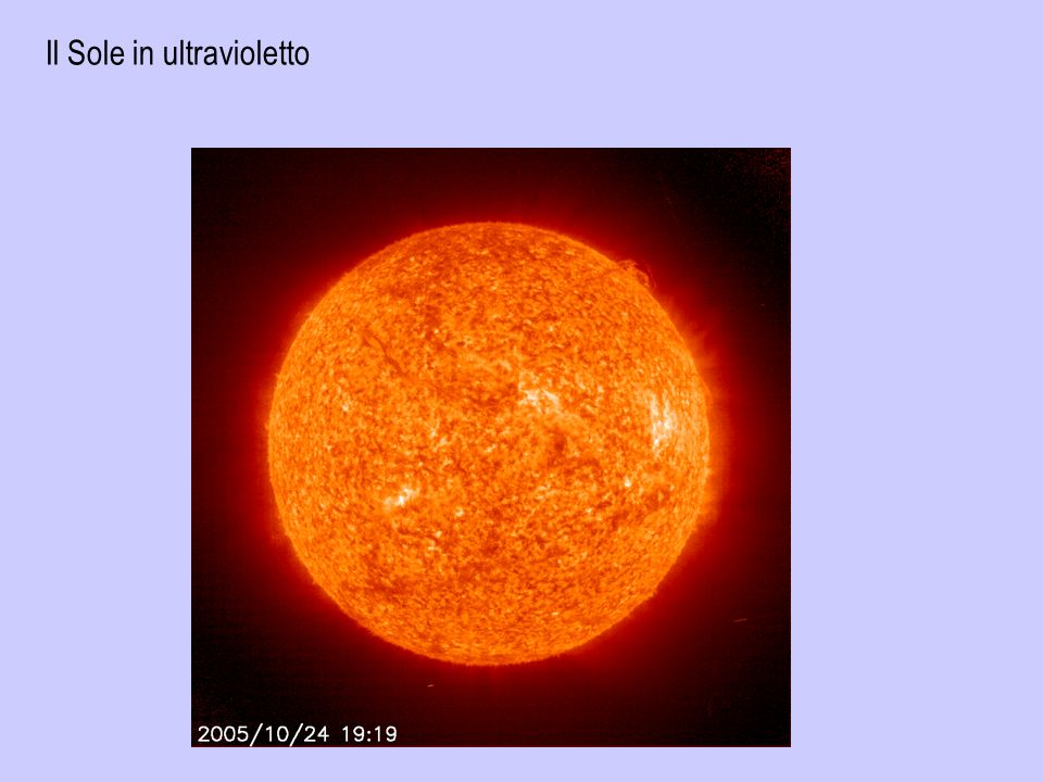 Il Sole in ultravioletto