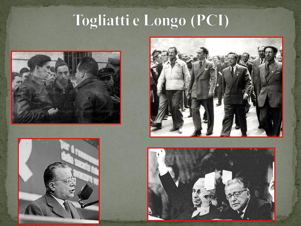 Togliatti e Longo (PCI)