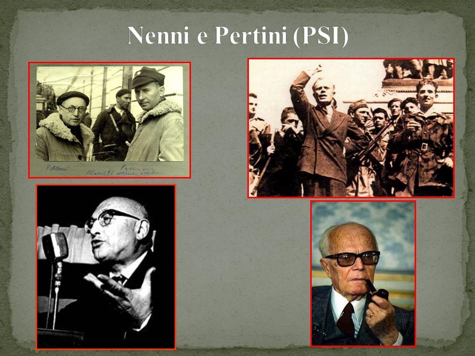 Nenni e Pertini (PSI)