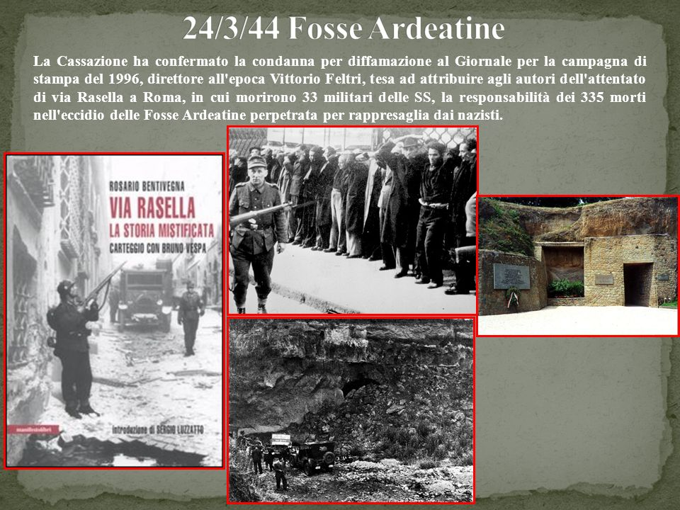 24/3/44 Fosse Ardeatine