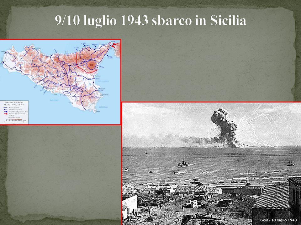 9/10 luglio 1943 sbarco in Sicilia