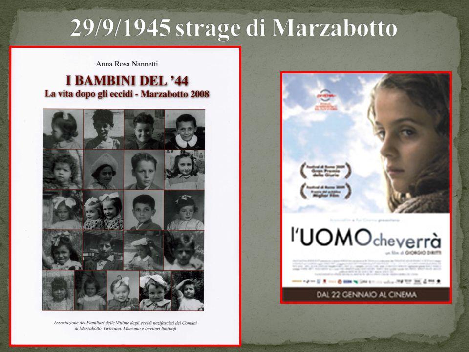 29/9/1945 strage di Marzabotto