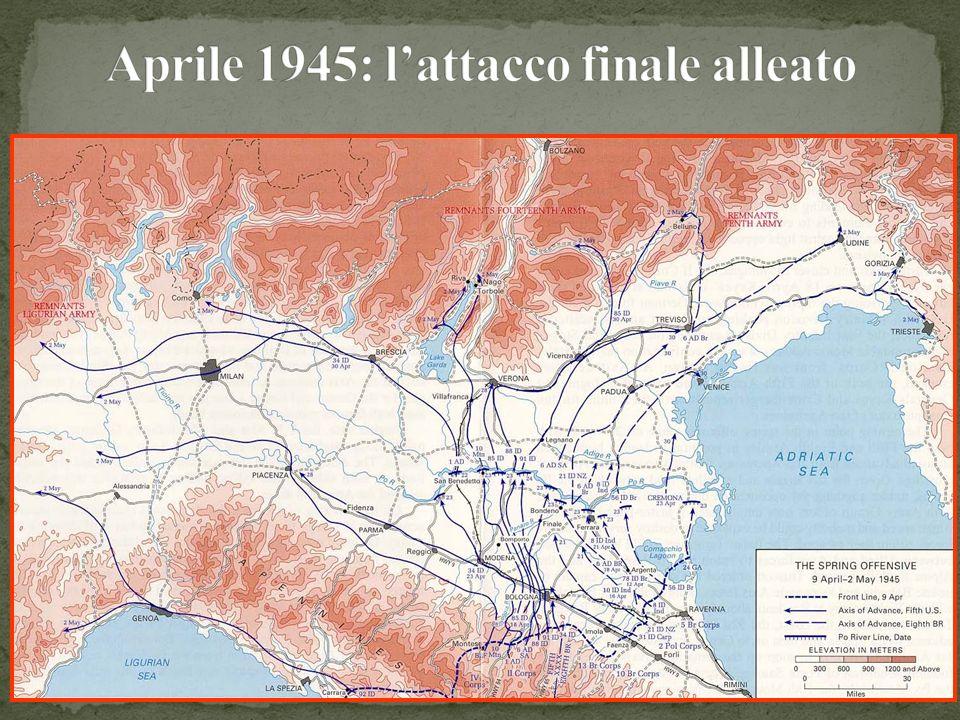 Aprile 1945: l'attacco finale alleato