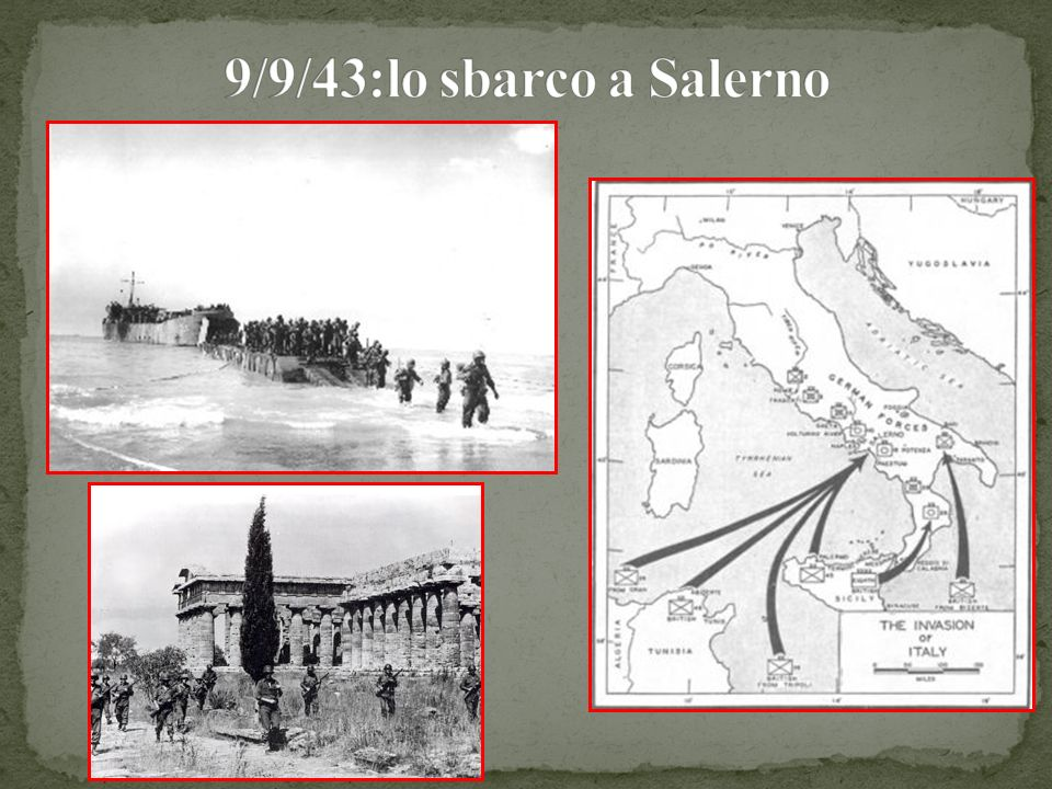 9/9/43:lo sbarco a Salerno