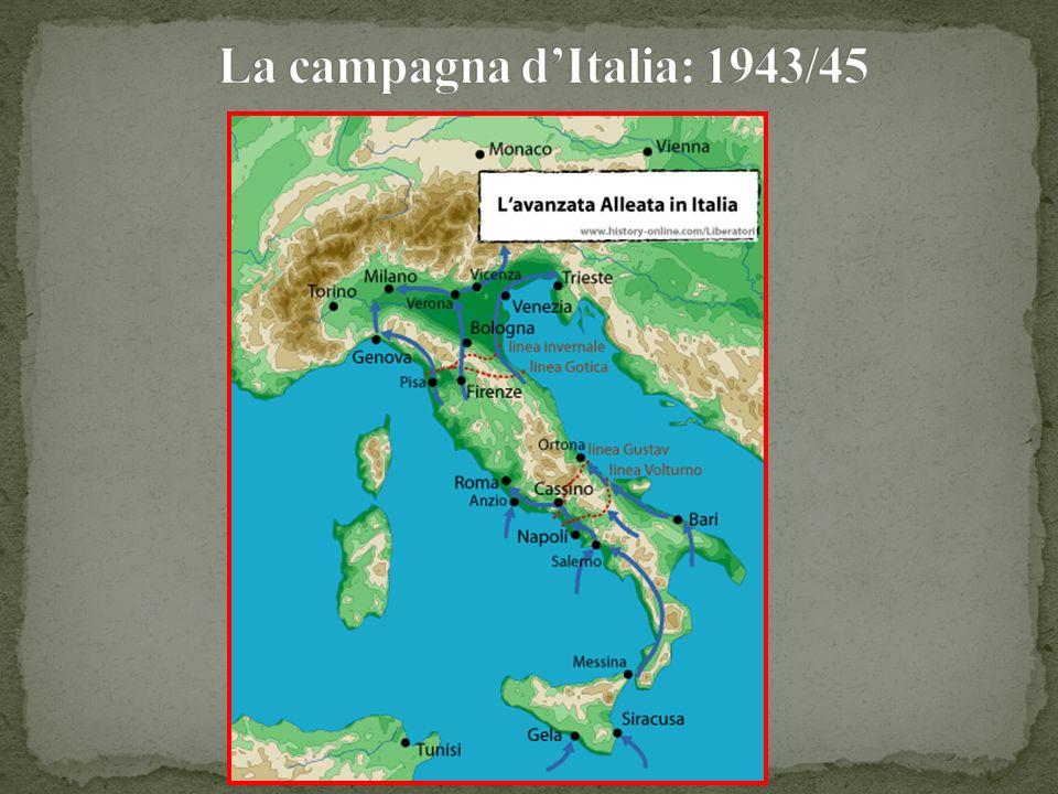 La campagna d'Italia: 1943/45