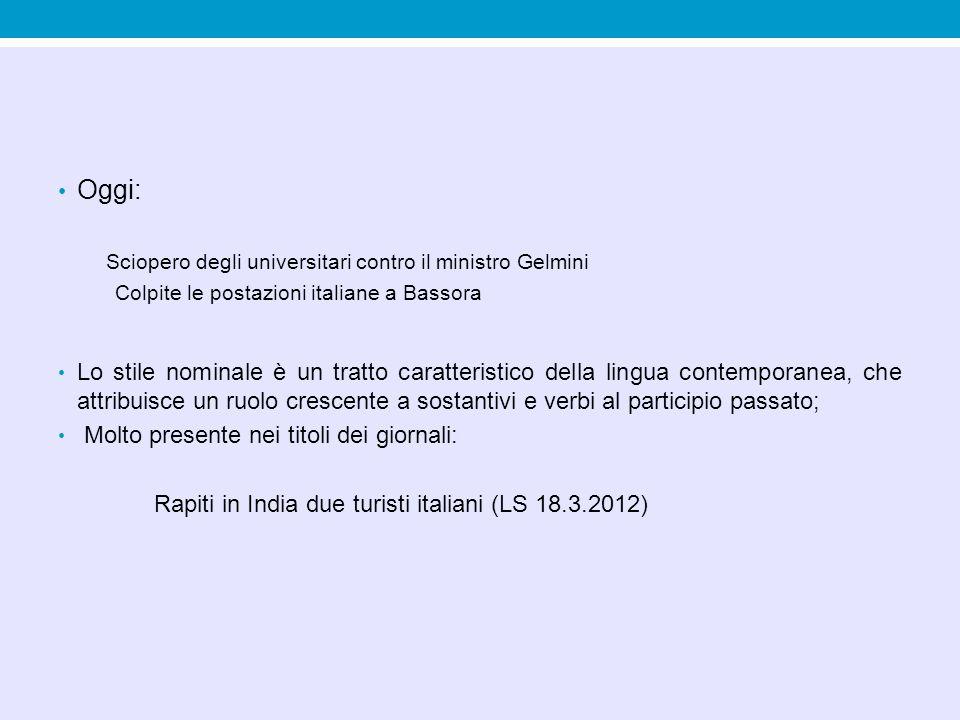Oggi: Sciopero degli universitari contro il ministro Gelmini