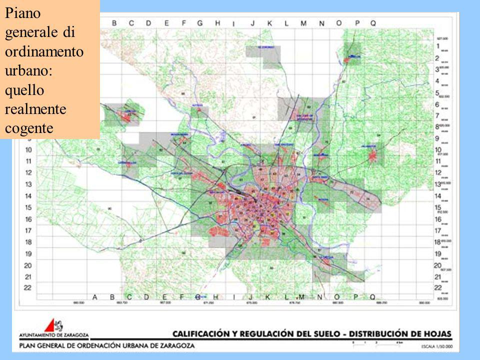 Piano generale di ordinamento urbano: quello realmente cogente