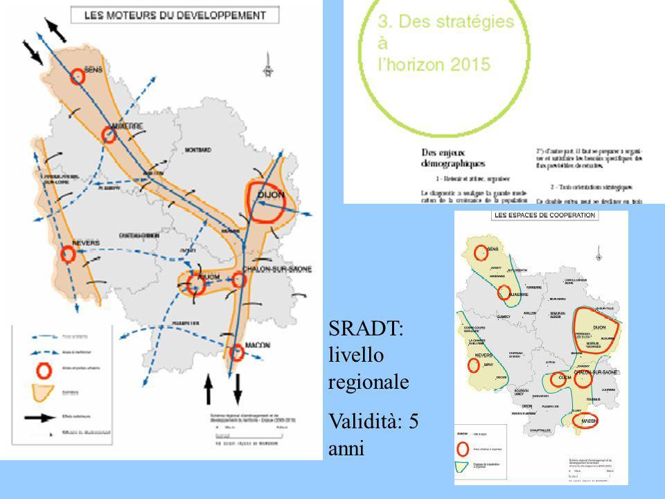 SRADT: livello regionale