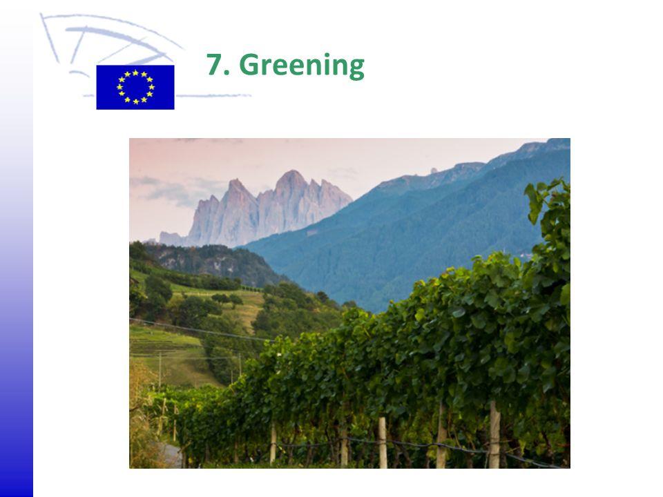 7. Greening