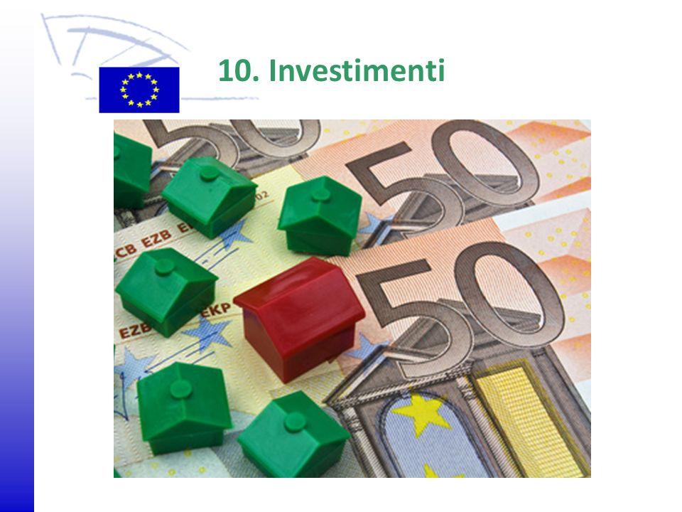 10. Investimenti