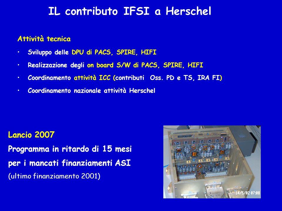 IL contributo IFSI a Herschel