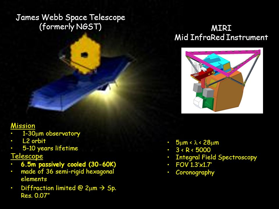 James Webb Space Telescope (formerly NGST)
