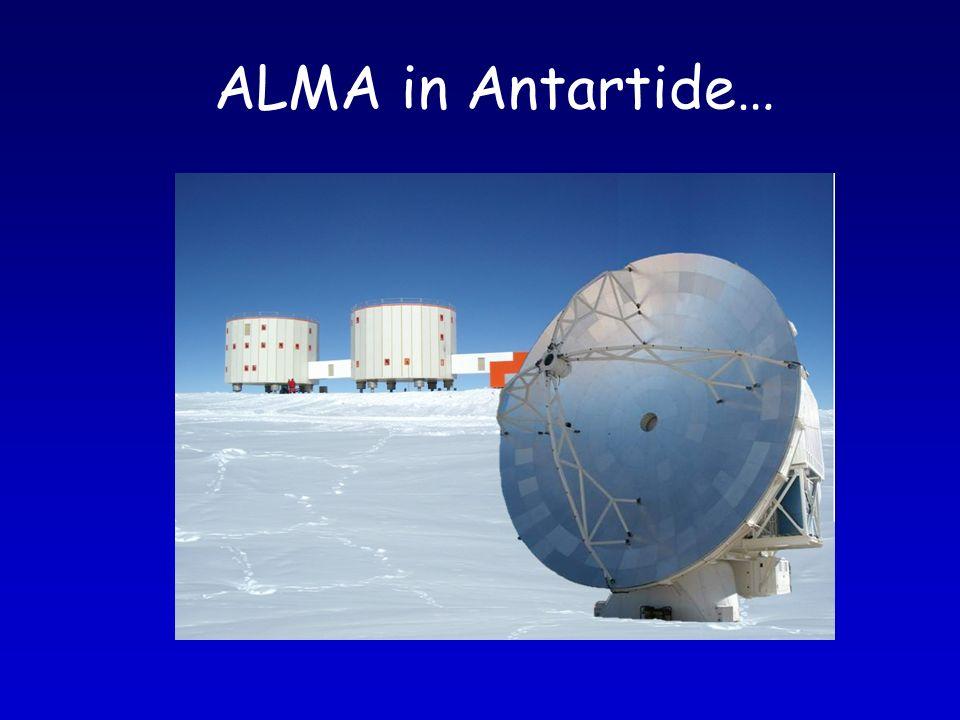 ALMA in Antartide…