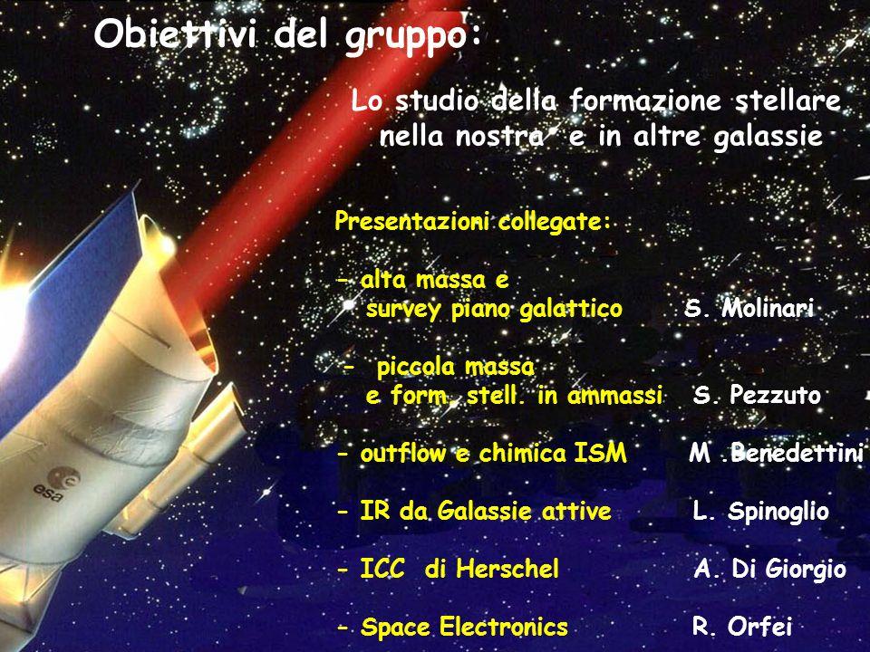 Lo studio della formazione stellare nella nostra e in altre galassie