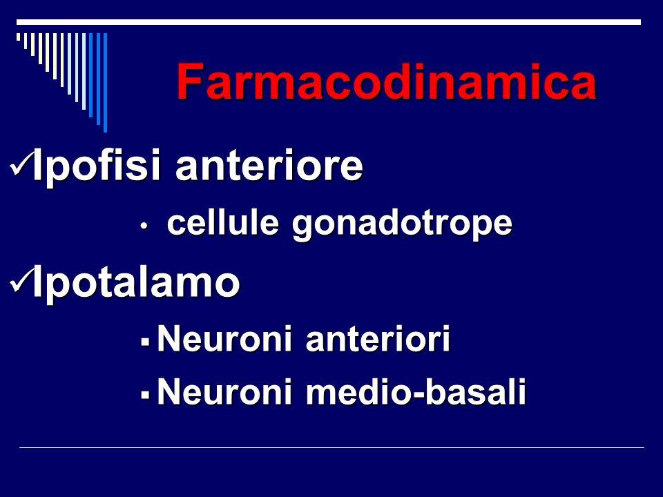 Ipofisi anteriore Ipotalamo cellule gonadotrope Neuroni anteriori