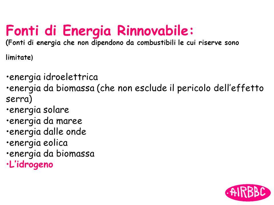 Fonti di Energia Rinnovabile: