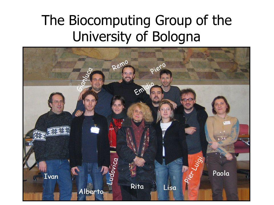 The Biocomputing Group of the University of Bologna