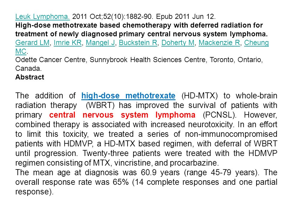 Leuk Lymphoma. 2011 Oct;52(10):1882-90. Epub 2011 Jun 12.