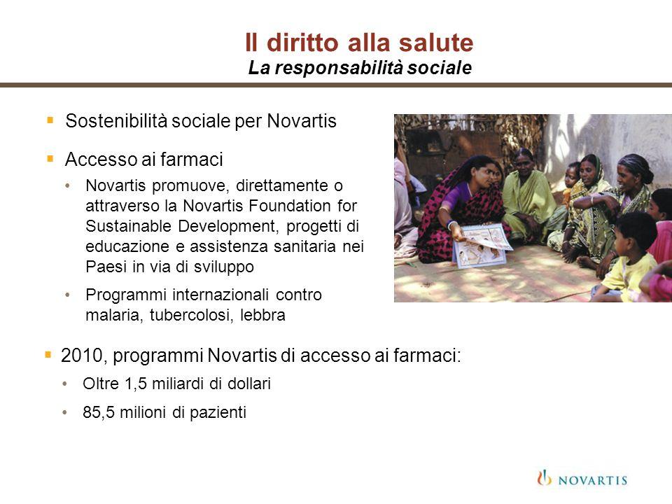 Il diritto alla salute La responsabilità sociale