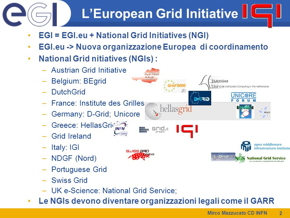 L'European Grid Initiative