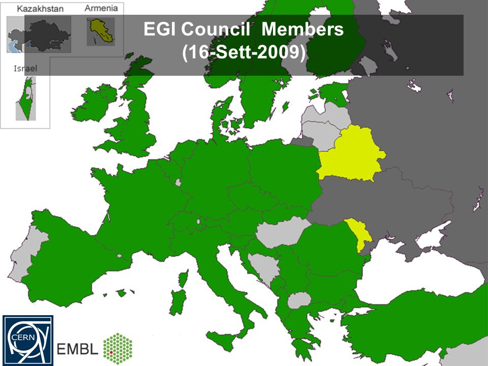 EGI Council Members (16-Sett-2009)