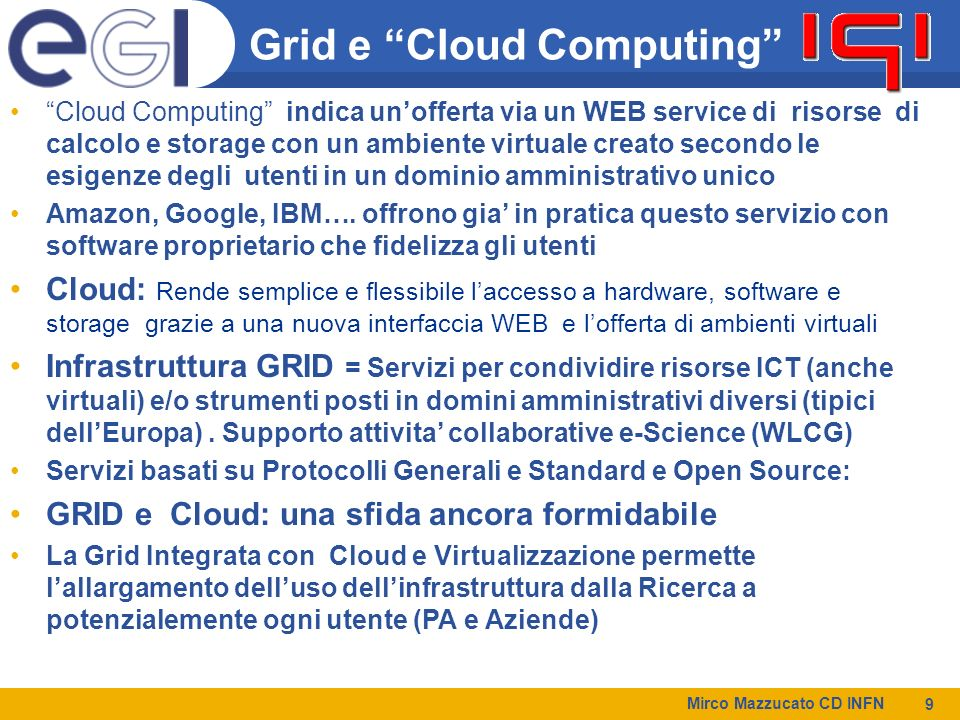 Grid e Cloud Computing