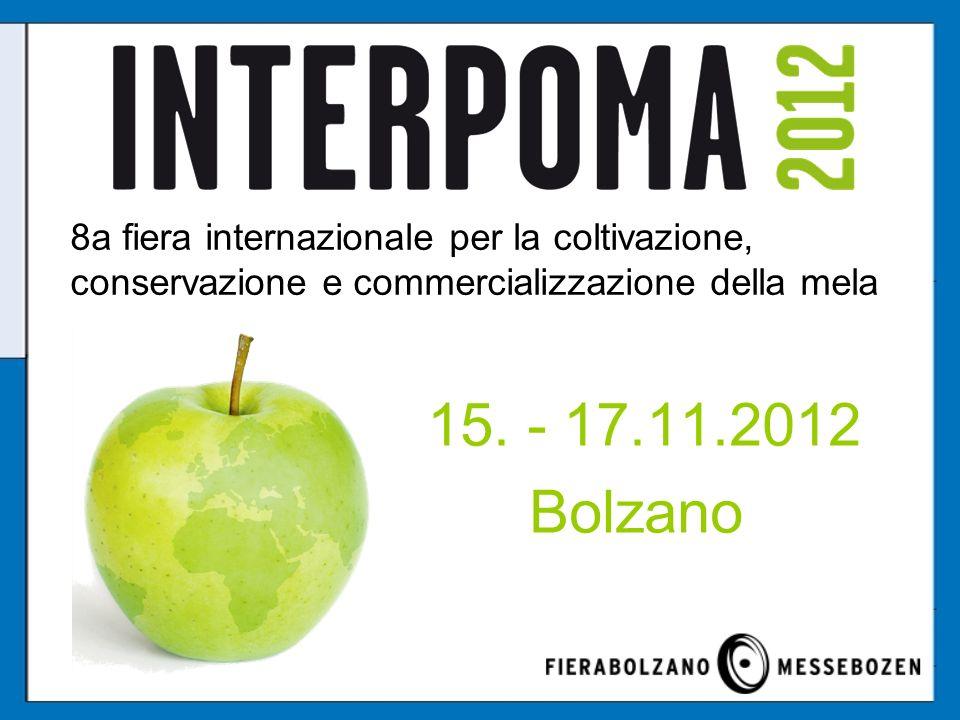 8a fiera internazionale per la coltivazione, conservazione e commercializzazione della mela