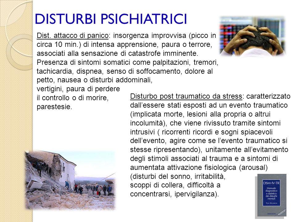 DISTURBI PSICHIATRICI