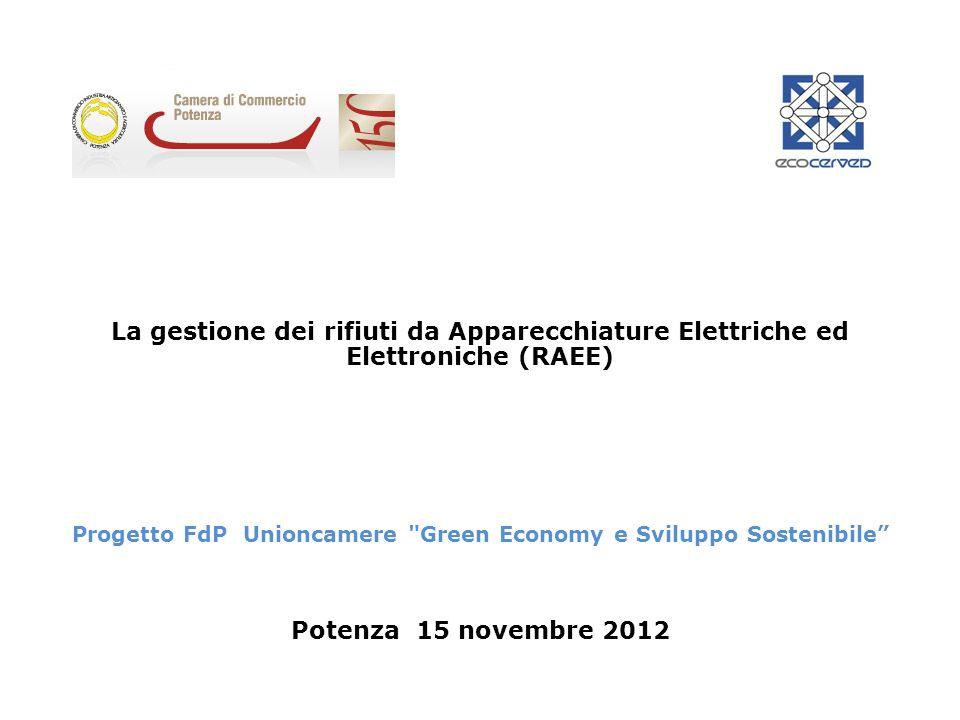 Progetto FdP Unioncamere Green Economy e Sviluppo Sostenibile