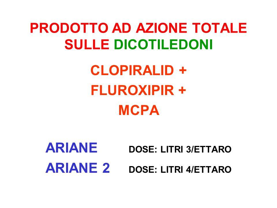 PRODOTTO AD AZIONE TOTALE SULLE DICOTILEDONI