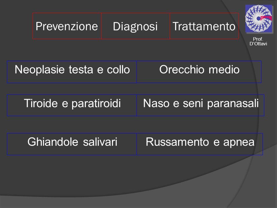 Neoplasie testa e collo