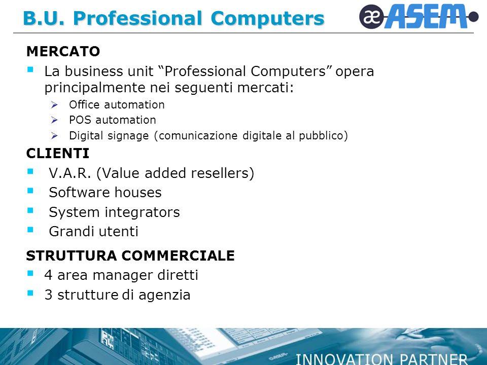 B.U. Professional Computers