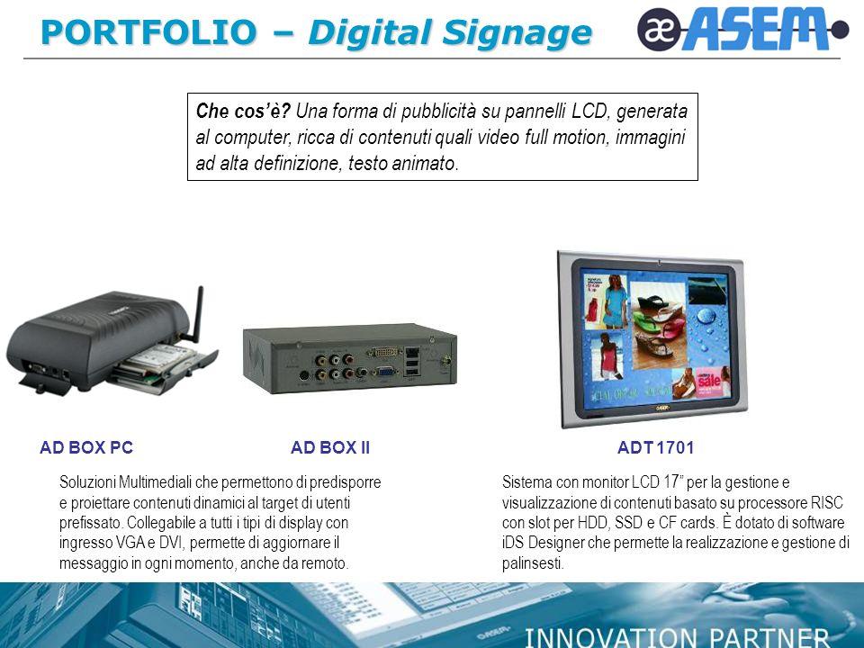 PORTFOLIO – Digital Signage