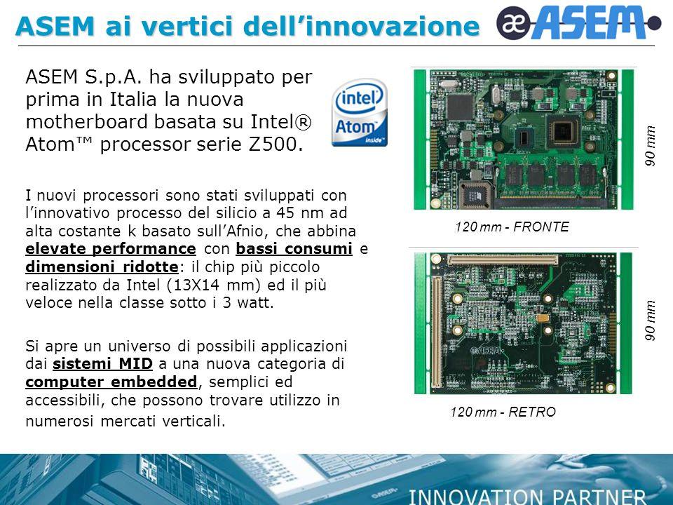 ASEM ai vertici dell'innovazione