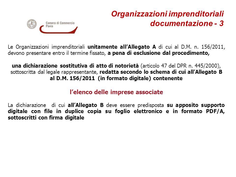 Organizzazioni imprenditoriali documentazione - 3