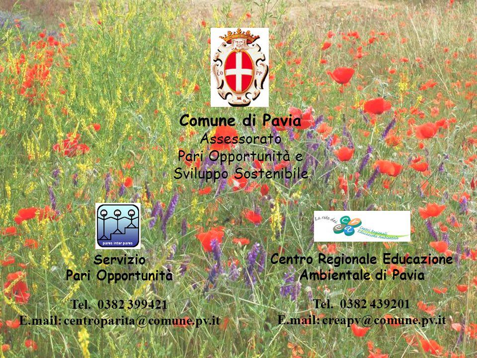 Comune di Pavia Assessorato Pari Opportunità e Sviluppo Sostenibile
