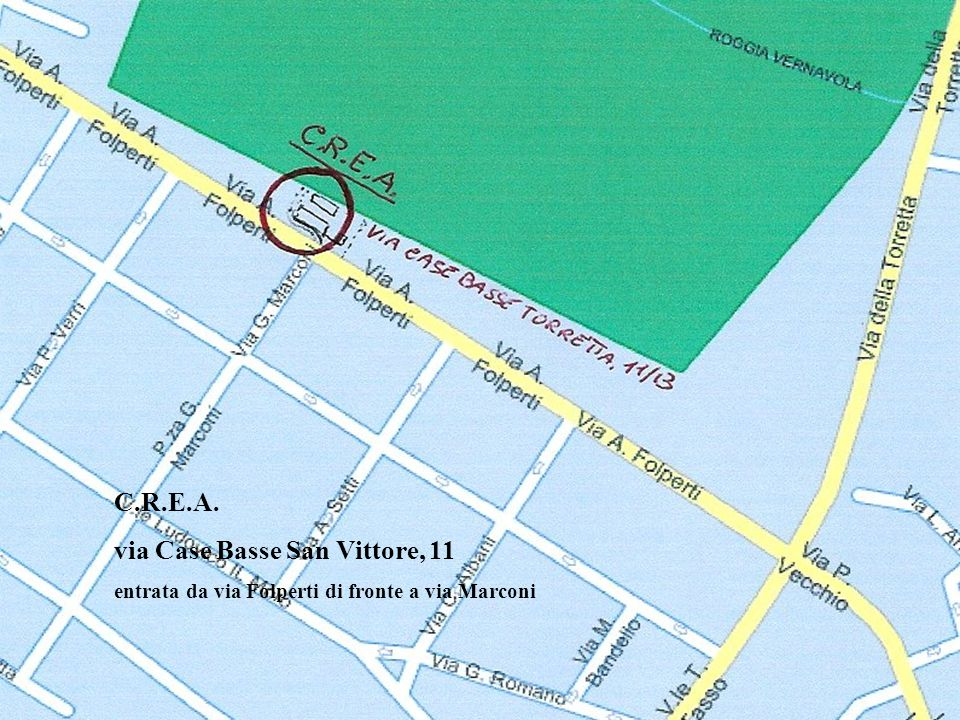 via Case Basse San Vittore, 11