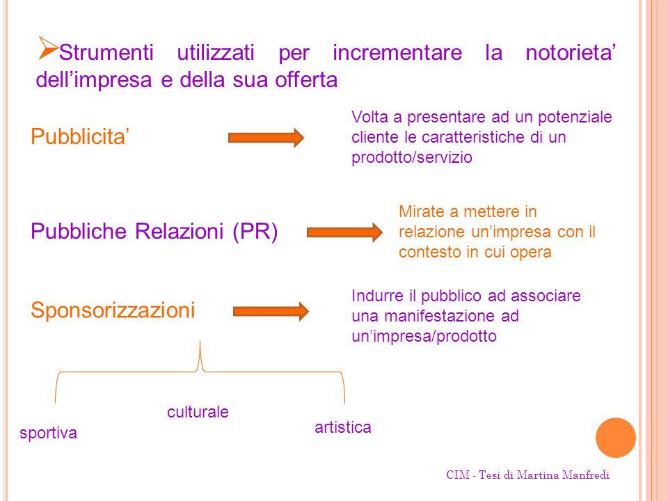 Pubbliche Relazioni (PR)