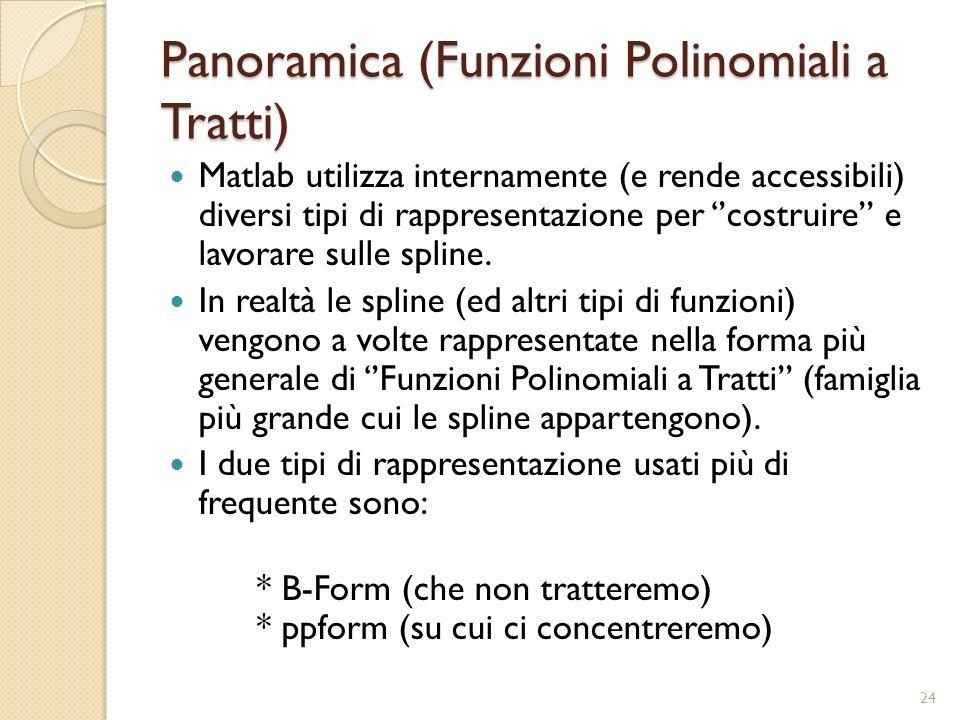 Panoramica (Funzioni Polinomiali a Tratti)