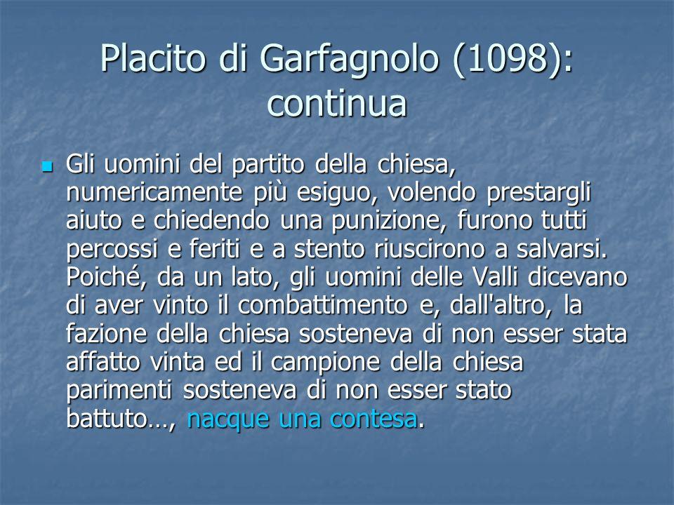 Placito di Garfagnolo (1098): continua