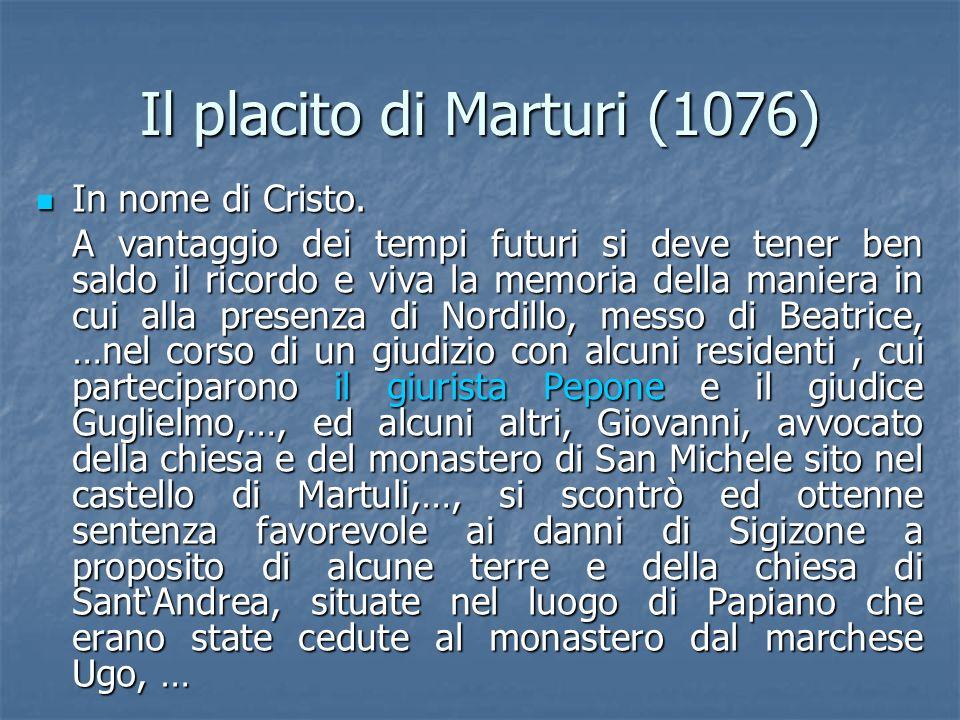 Il placito di Marturi (1076)
