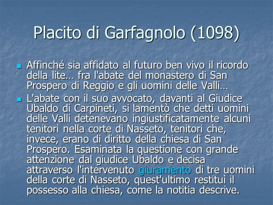 Placito di Garfagnolo (1098)