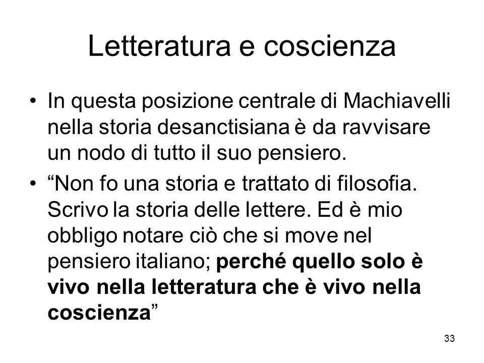 Letteratura e coscienza