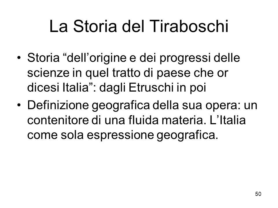 La Storia del Tiraboschi
