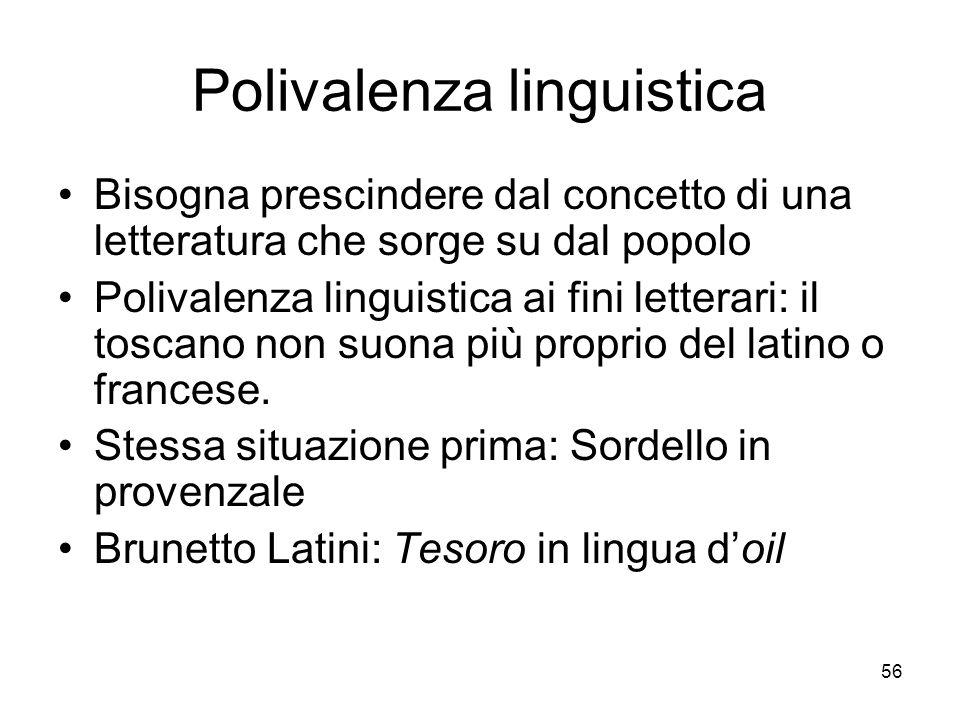 Polivalenza linguistica