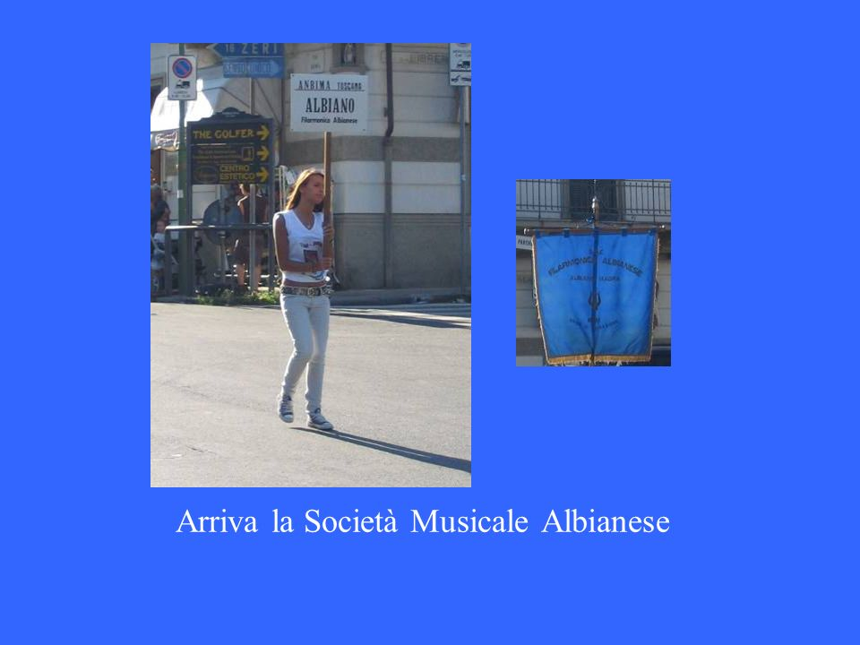 Arriva la Società Musicale Albianese
