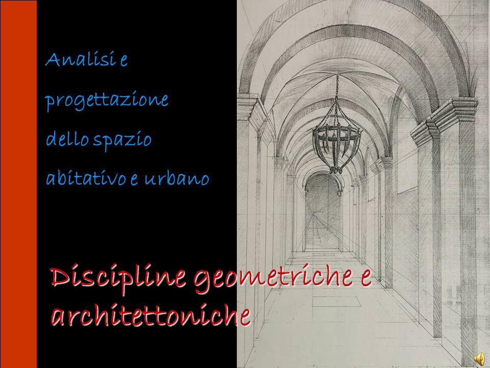 Discipline geometriche e architettoniche