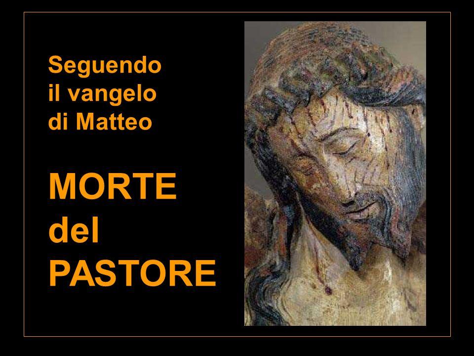 Seguendo il vangelo di Matteo MORTE del PASTORE