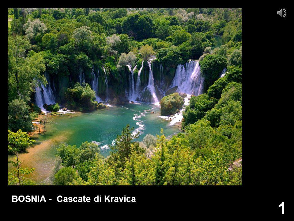 BOSNIA - Cascate di Kravica