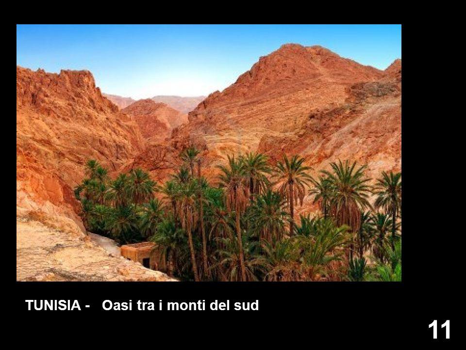 TUNISIA - Oasi tra i monti del sud